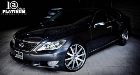 Lexus LS460 Sport от Platinum Motorsport