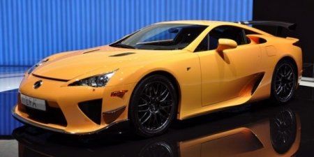 Премьера Lexus LFA Nurburgring Package