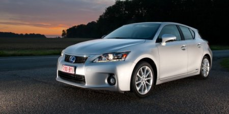 Lexus CT 200h заслужил Top Safety Pick от IIHS